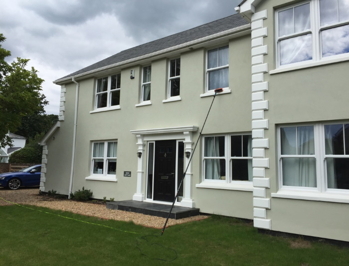 Domestic window cleaning in Portsmouth