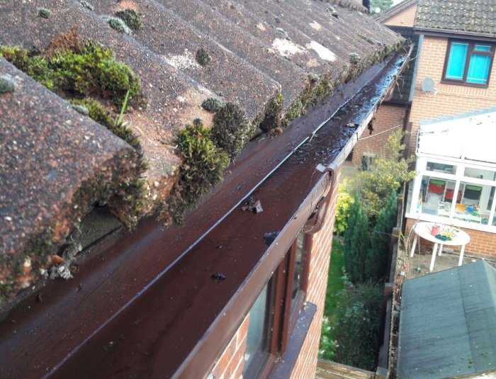 Gutter cleaning in Portsmouth